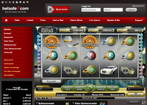 Betsafe casinolobby
