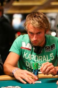 Petter Northug skal delta i poker-VM i Las Vegas for tredje gang. Her fra debuten i 2010.