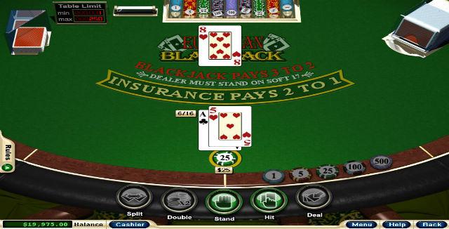 Main blackjack
